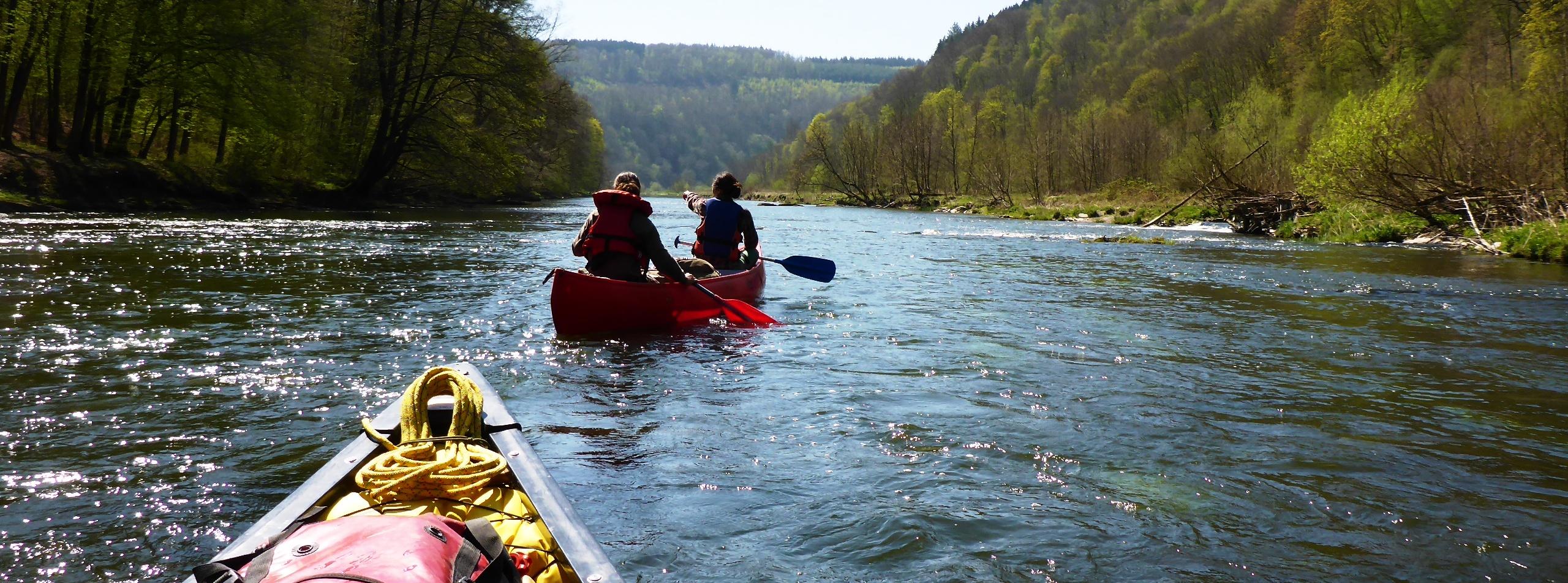 Sur les rivières